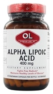 Olympian Labs - Alpha Lipoic Acid 400 mg. - 60 Vegetarian Capsules by Olympian Labs