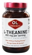 Olympian Labs - L-Theanine 400 mg. - 60 Vegetarian Capsules (710013032317)