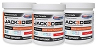 USP Labs - Jack3d Micro Fruit Punch (5.1 oz. each) - 3 Pack by USP Labs