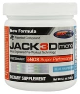 USP Labs - Jack3d Micro Blue Raspberry (5.1 oz.) - 146 Grams - $29.99