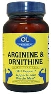 Olympian Labs - Arginine & Ornithine - 100 Capsules CLEARANCE PRICED (710013000170)