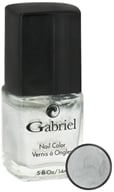 Gabriel Cosmetics Inc. - Nail Color Liquid Silver - 0.5 oz.