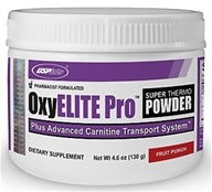 USP Labs - Oxy Elite Pro Super Thermogenic New Formula Fruit Punch - 4.6 oz. (094922426369)