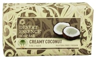 Image of Desert Essence - Soap Bar Creamy Coconut - 5 oz.