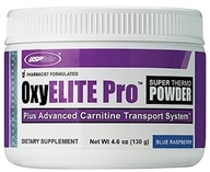 USP Labs - Oxy Elite Pro Super Thermogenic New Formula Blue Raspberry - 4.6 oz. by USP Labs