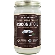 Dr. Bronners - Magic Fresh-Pressed Virgin Coconut Oil Whole Kernel Unrefined - 30 oz. by Dr. Bronners