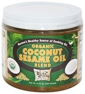 FunFresh Foods - Organic Coconut Sesame Oil Blend - 14 oz.