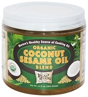 Image of FunFresh Foods - Organic Coconut Sesame Oil Blend - 14 oz.