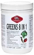 Image of Olympian Labs - Greens Protein 8 in 1 Delicious Blueberry Flavor - 388 Grams