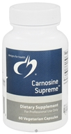 Designs For Health - Carnosine Supreme - 60 Vegetarian Capsules