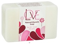 Auric Blends - Natural Glycerin Bar Soap Love - 3.6 oz., from category: Personal Care