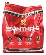 BSN - Syntha-6 Sustained Release Protein Powder Chocolate Milkshake - 10.05 lbs. - $80