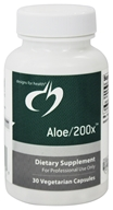 Designs For Health - Aloe/200 X - 30 Vegetarian Capsules