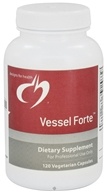 Designs For Health - Vessel Forte - 120 Vegetarian Capsules - $48