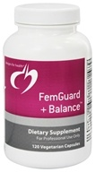 Image of Designs For Health - Femguard + Balance - 120 Vegetarian Capsules
