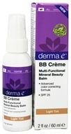 Image of Derma-E - Evenly Radiant BB Creme Multi-Functional Mineral Beauty Balm Fragrance Free Light Tint 25 SPF - 2 oz. LUCKY DEAL