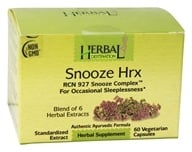 Herbal Destination - Snooze Hrx RCN 927 Snooze Complex 850 mg. - 60 Vegetarian Capsules, from category: Herbs