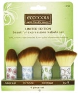 Eco Tools - Beautiful Expressions Kabuki Set - 4 Piece(s) (079625012910)