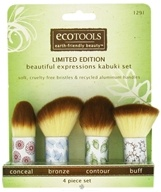 Eco Tools - Beautiful Expressions Kabuki Set - 4 Piece(s), from category: Personal Care