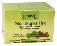 Herbal Destination - GlucoSuprs Hrx GMS 315 Gluco Complex 890 mg. - 60 Vegetarian Capsules, from category: Nutritional Supplements