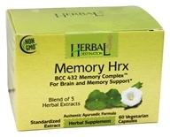 Herbal Destination - Memory Hrx BCC 432 Memory Complex 1050 mg. - 60 Vegetarian Capsules