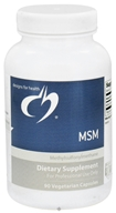Image of Designs For Health - MSM 1000 mg. - 90 Vegetarian Capsules CLEARANCE PRICED