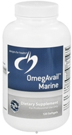 Image of Designs For Health - OmegAvail Marine - 120 Softgels