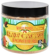 FunFresh Foods - Organic Raw Cacao Powder - 5 oz. (632474241278)