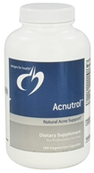 Image of Designs For Health - Acnutrol - 180 Vegetarian Capsules