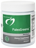 Image of Designs For Health - PaleoGreens Mint Flavor - 270 Grams