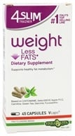 Erba Vita - 4 Slim Trainer Weight Less Fats - 45 Vegetarian Capsules by Erba Vita