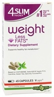 Erba Vita - 4 Slim Trainer Weight Less Fats - 45 Vegetarian Capsules
