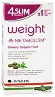 Erba Vita - 4 Slim Trainer Weight Metabolism - 45 Tablet(s), from category: Diet & Weight Loss