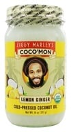 Image of Ziggy Marley Organics - Coco'Mon Cold-Pressed Coconut Oil Lemon Ginger - 14 oz.