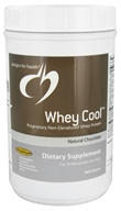 Image of Designs For Health - Whey Cool Natural Chocolate Flavor - 900 Grams