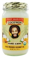 Image of Ziggy Marley Organics - Coco'Mon Cold-Pressed Coconut Oil Orange Almond - 14 oz.