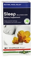 Erba Vita - Sleep - 30 Vegetarian Capsules by Erba Vita