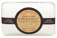 Pure Provence - Triple Milled Soap Certified Organic Pomegranate Passion Fruit - 5.3 oz.