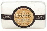 Pure Provence - Triple Milled Soap Certified Organic Pomegranate Passion Fruit - 5.3 oz. (891356001168)