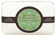 Pure Provence - Triple Milled Soap Certified Organic Moroccan Mint - 5.3 oz. (891356001151)