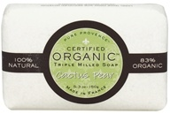 Pure Provence - Triple Milled Soap Certified Organic Cactus Pear - 5.3 oz. (891356001113)