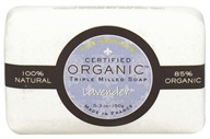 Pure Provence - Triple Milled Soap Certified Organic Lavender - 5.3 oz. (891356001144)