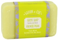 Savon et Cie - Triple Milled Bath Soap French Pear - 7 oz. - $4.79