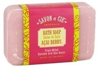 Savon et Cie - Triple Milled Bath Soap Acai Berry - 7 oz., from category: Personal Care