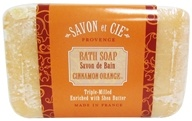 Savon et Cie - Triple Milled Bath Soap Cinnamon Orange - 7 oz. - $4.79