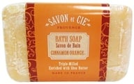 Savon et Cie - Triple Milled Bath Soap Cinnamon Orange - 7 oz., from category: Personal Care