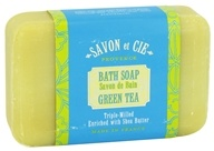 Savon et Cie - Triple Milled Bath Soap Green Tea - 7 oz. by Savon et Cie