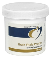 Designs For Health - Brain Vitale Powder - 50 Grams by Designs For Health