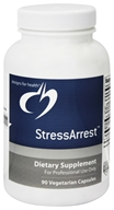 Designs For Health - StressArrest - 90 Vegetarian Capsules (879452000445)