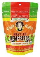 Image of Ziggy Marley Organics - Hemp Rules Roasted Hempseeds Caribbean Crunch - 6 oz.
